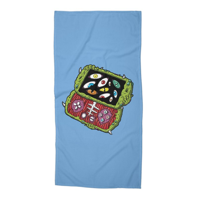 Controller Freaks - Subject P5P-G0 Accessories Beach Towel by Mystic Soda