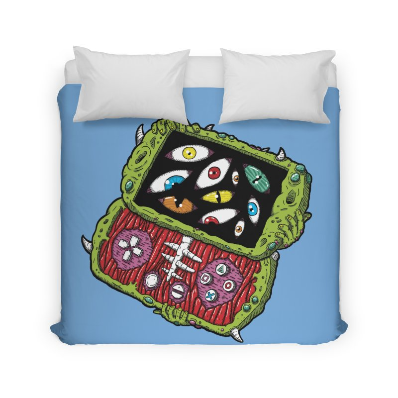 Controller Freaks - Subject P5P-G0 Home Duvet by Mystic Soda