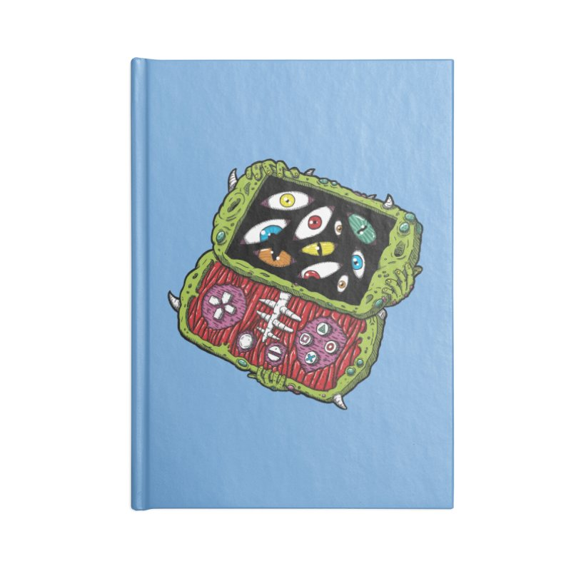 Controller Freaks - Subject P5P-G0 Accessories Lined Journal Notebook by Mystic Soda