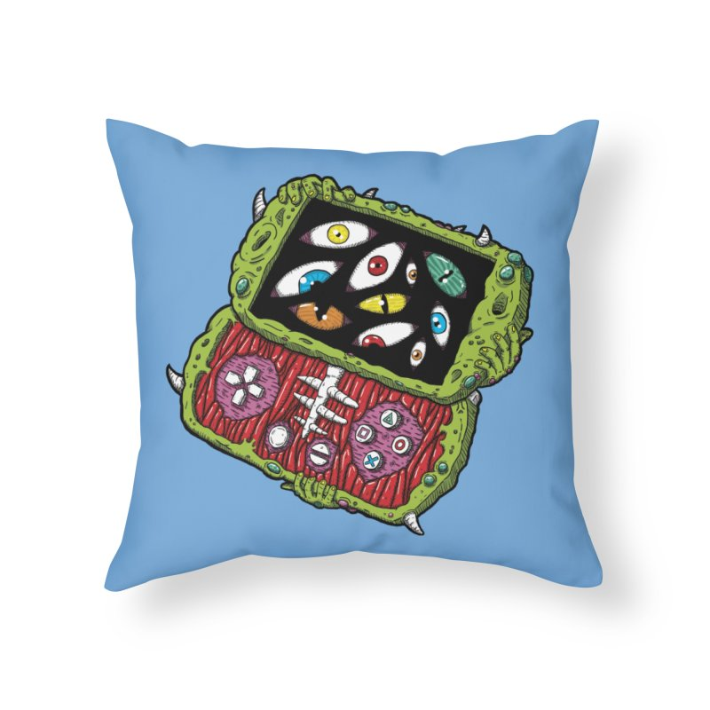 Controller Freaks - Subject P5P-G0 Home Throw Pillow by Mystic Soda