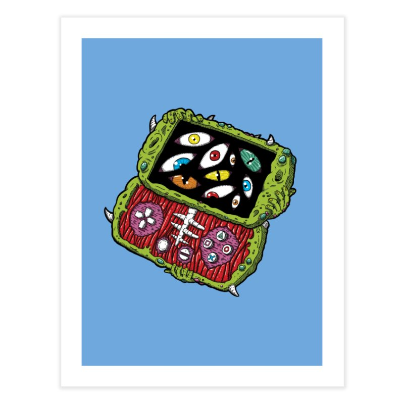 Controller Freaks - Subject P5P-G0 Home Fine Art Print by Mystic Soda