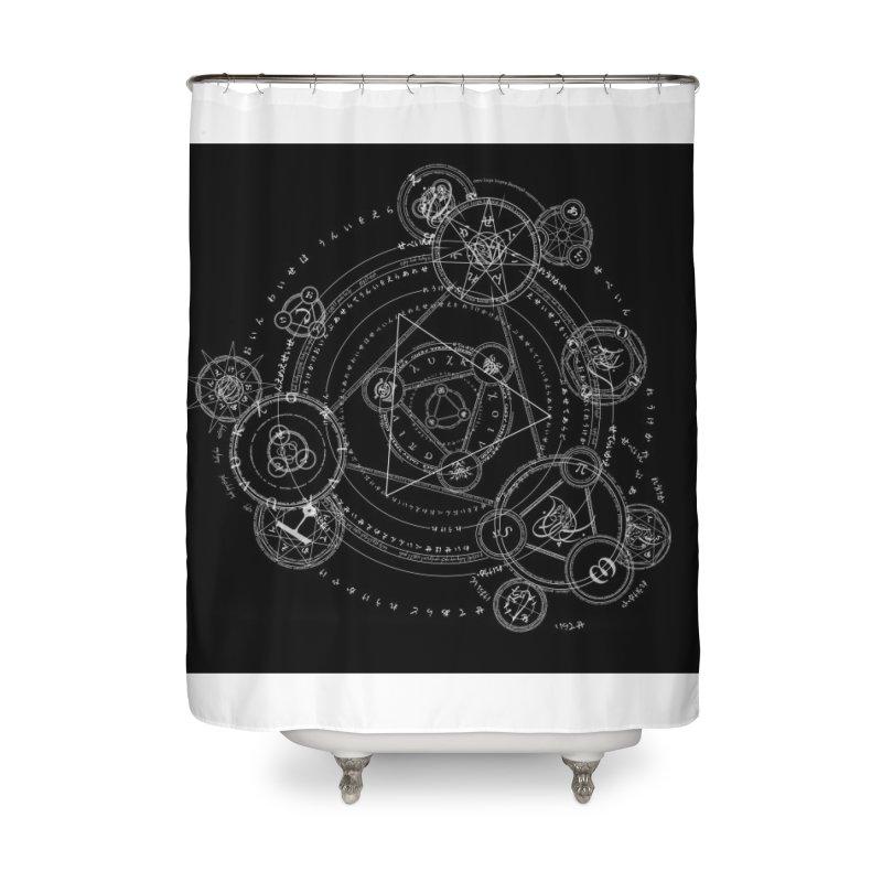 Formal Magic Circle Home Shower Curtain by mytarotshop's Artist Shop