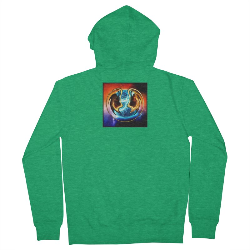 Yin and Yang Men's Zip-Up Hoody by mytarotshop's Artist Shop