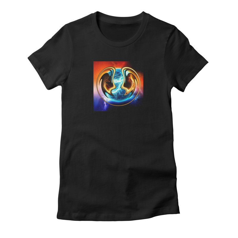 Yin and Yang Women's T-Shirt by mytarotshop's Artist Shop