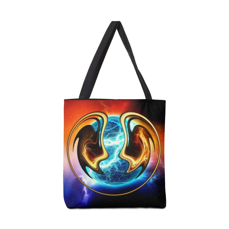 Yin and Yang Accessories Bag by mytarotshop's Artist Shop