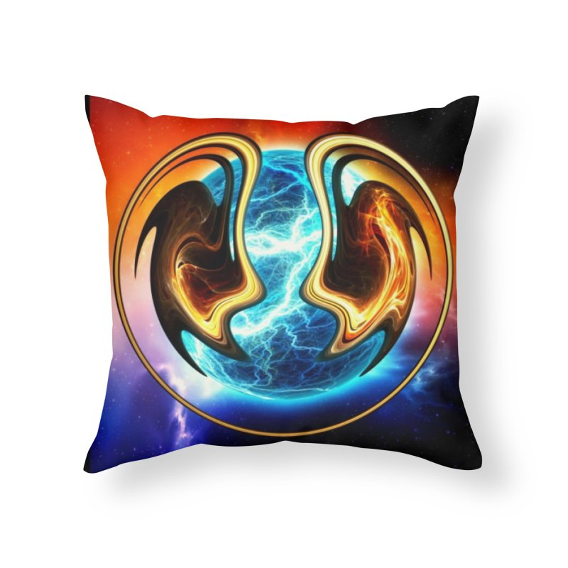 Yin and Yang Home Throw Pillow by mytarotshop's Artist Shop