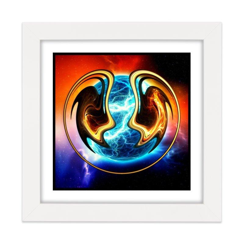 Yin and Yang Home Framed Fine Art Print by mytarotshop's Artist Shop