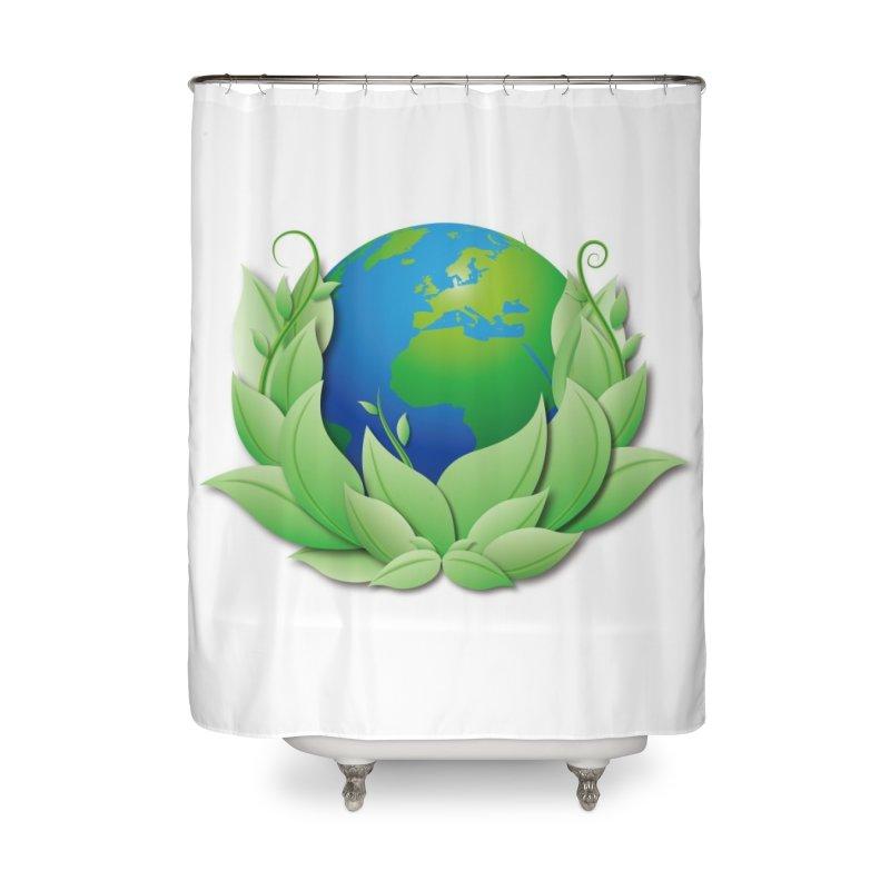 Yin and Yang Home Shower Curtain by mytarotshop's Artist Shop