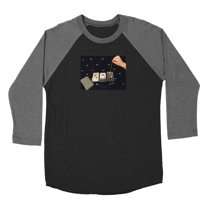 Black and Silver Women's Longsleeve T-Shirt by mytarotshop's Artist Shop