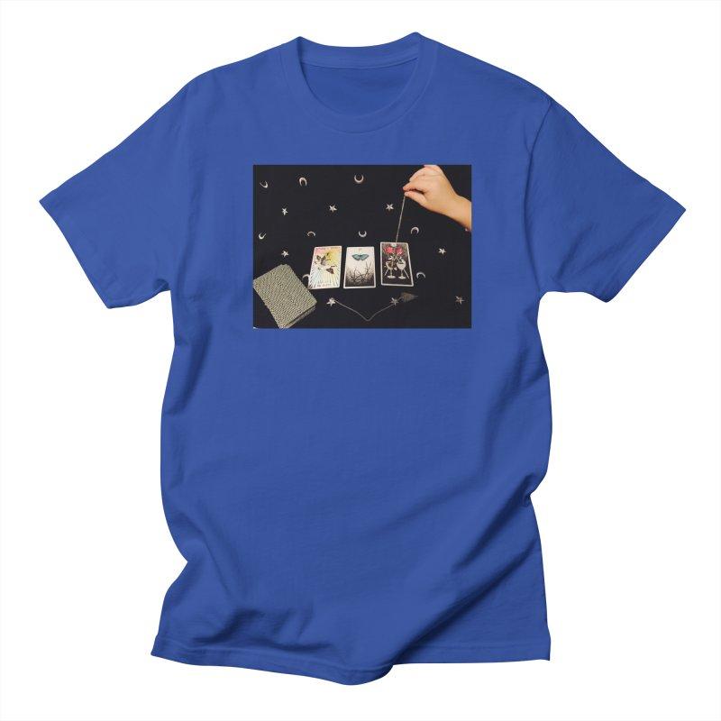 Black and Silver Men's T-Shirt by mytarotshop's Artist Shop