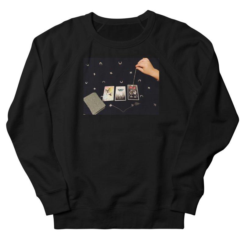 Black and Silver Women's Sweatshirt by mytarotshop's Artist Shop