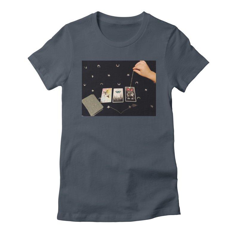 Black and Silver Women's T-Shirt by mytarotshop's Artist Shop