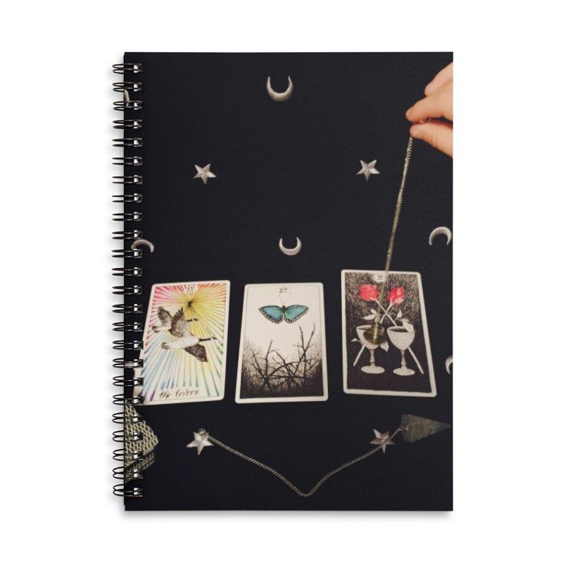 Black and Silver Accessories Notebook by mytarotshop's Artist Shop