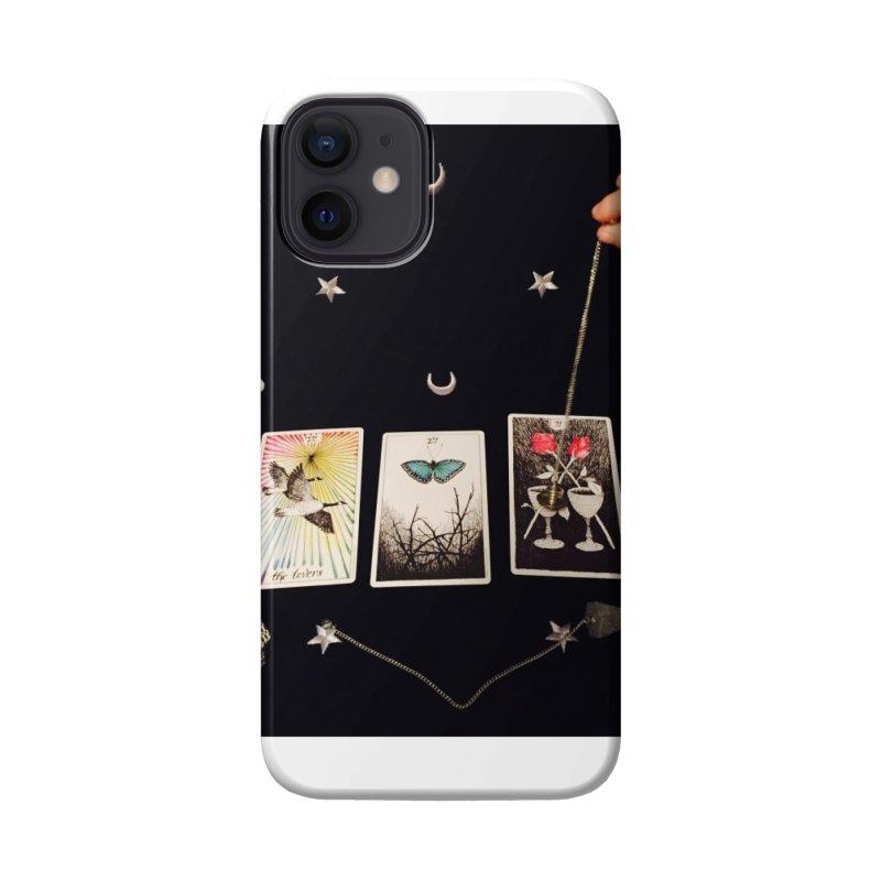 Black and Silver Accessories Phone Case by mytarotshop's Artist Shop