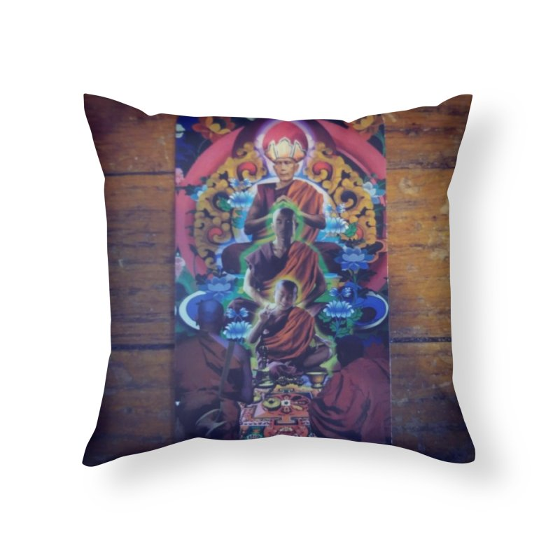 #5 Hierophant Home Throw Pillow by mytarotshop's Artist Shop