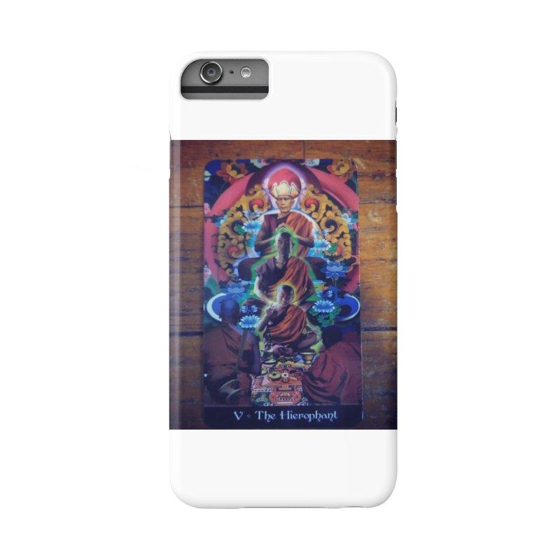 #5 Hierophant Accessories Phone Case by mytarotshop's Artist Shop