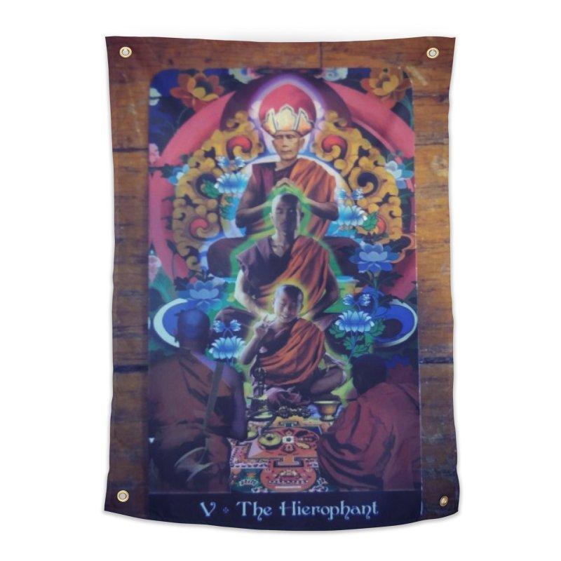 #5 Hierophant Home Tapestry by mytarotshop's Artist Shop