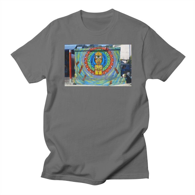 Tiki Woman Men's T-Shirt by mytarotshop's Artist Shop