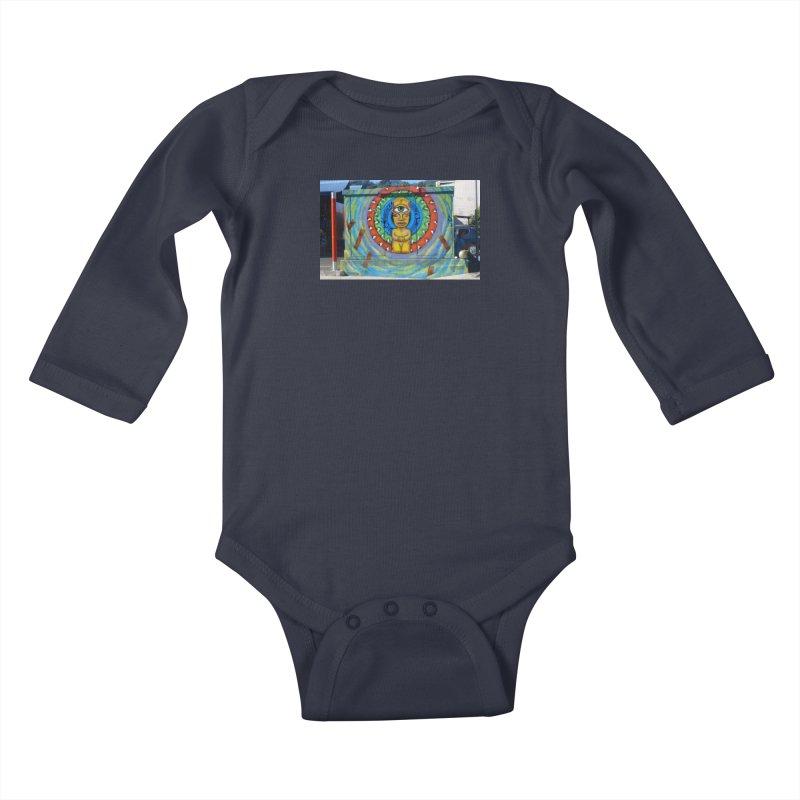Tiki Woman Kids Baby Longsleeve Bodysuit by mytarotshop's Artist Shop