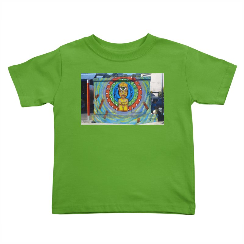 Tiki Woman Kids Toddler T-Shirt by mytarotshop's Artist Shop