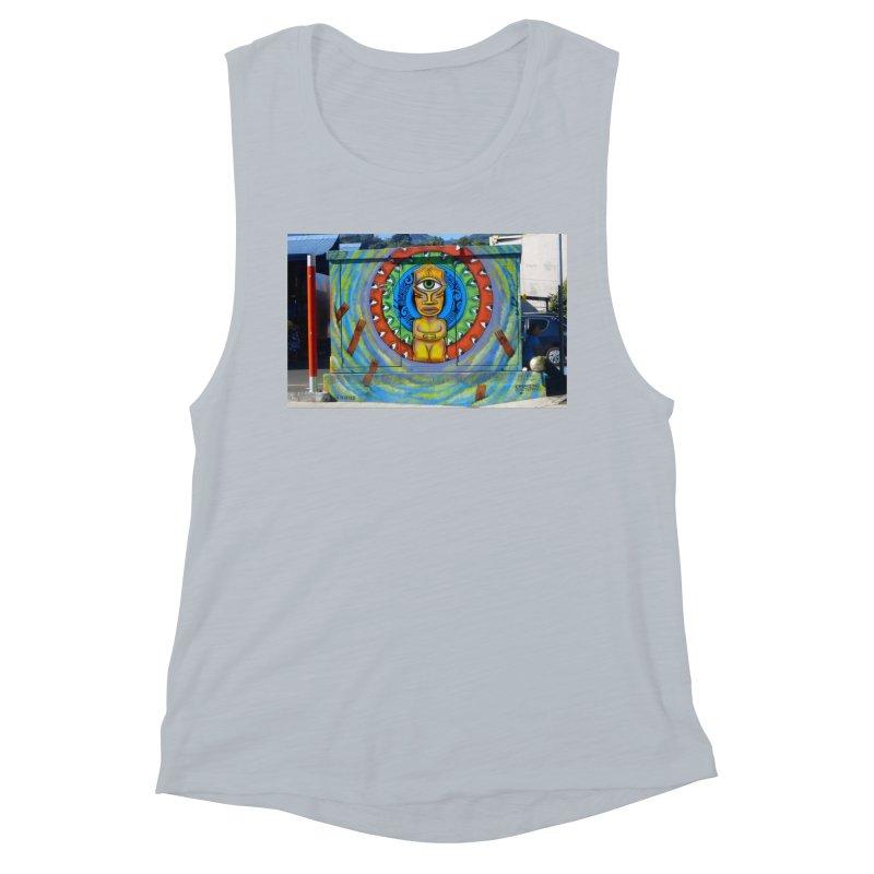 Tiki Woman Women's Tank by mytarotshop's Artist Shop