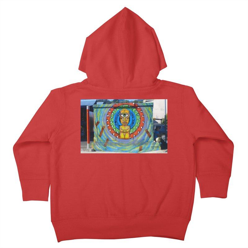 Tiki Woman Kids Toddler Zip-Up Hoody by mytarotshop's Artist Shop
