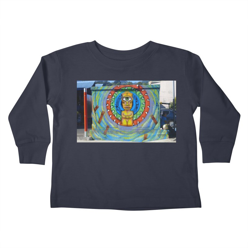 Tiki Woman Kids Toddler Longsleeve T-Shirt by mytarotshop's Artist Shop
