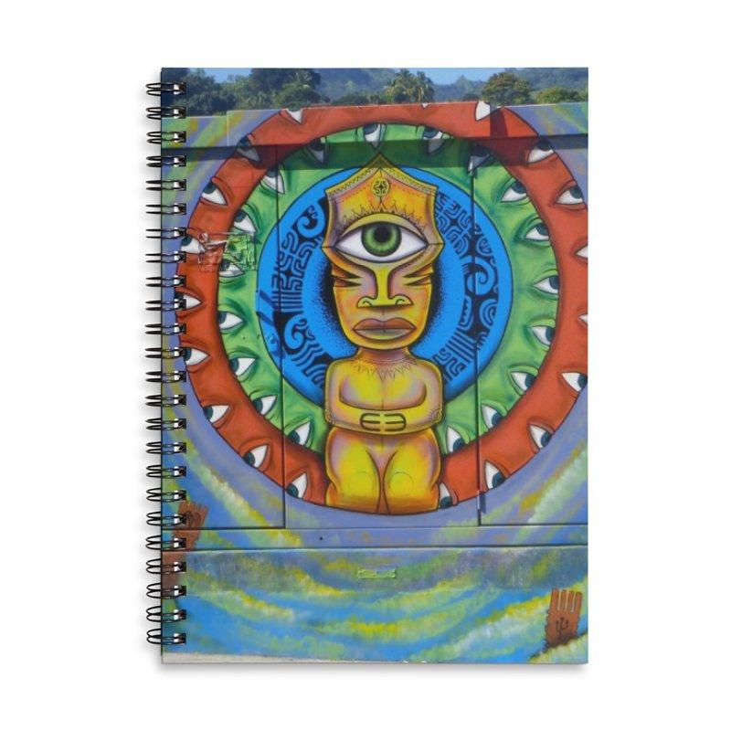 Tiki Woman Accessories Notebook by mytarotshop's Artist Shop