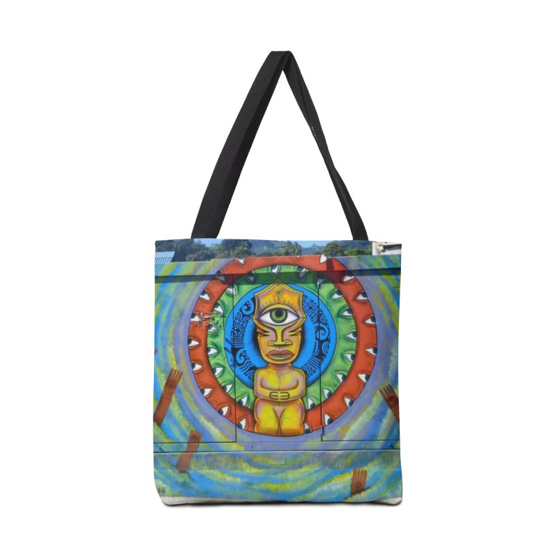 Tiki Woman Accessories Bag by mytarotshop's Artist Shop