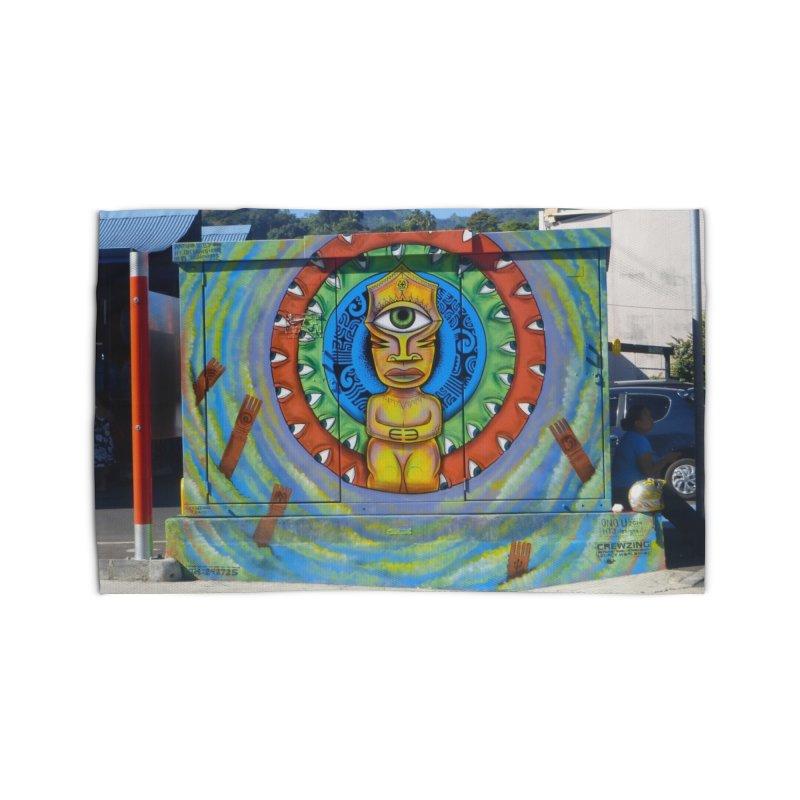 Tiki Woman Home Rug by mytarotshop's Artist Shop