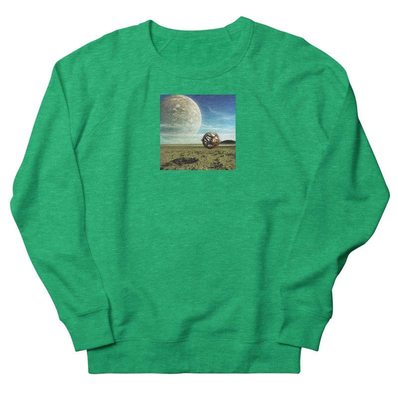 Digital Earth Women's Sweatshirt by mytarotshop's Artist Shop