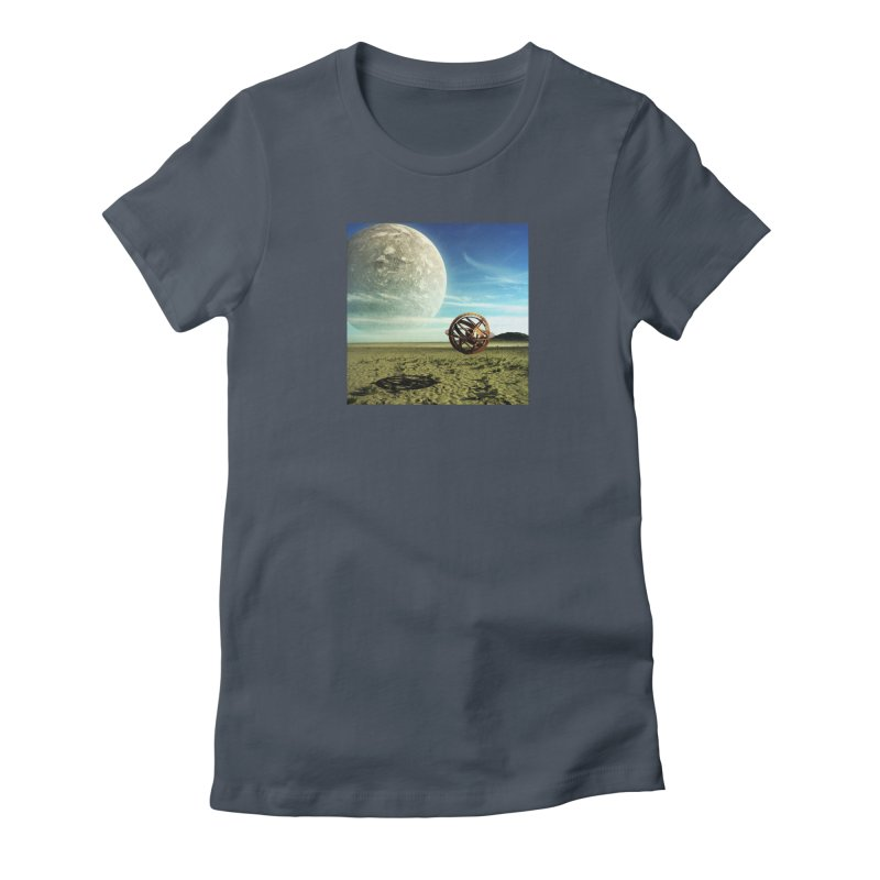 Digital Earth Women's T-Shirt by mytarotshop's Artist Shop