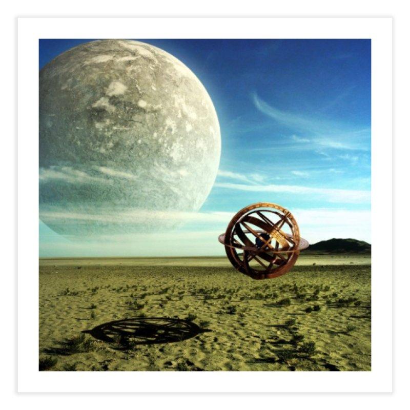 Digital Earth Home Fine Art Print by mytarotshop's Artist Shop