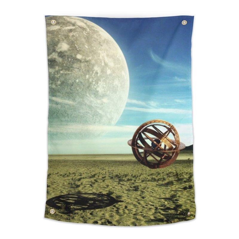 Digital Earth Home Tapestry by mytarotshop's Artist Shop