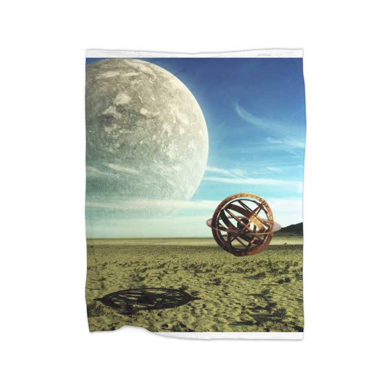 Digital Earth Home Blanket by mytarotshop's Artist Shop