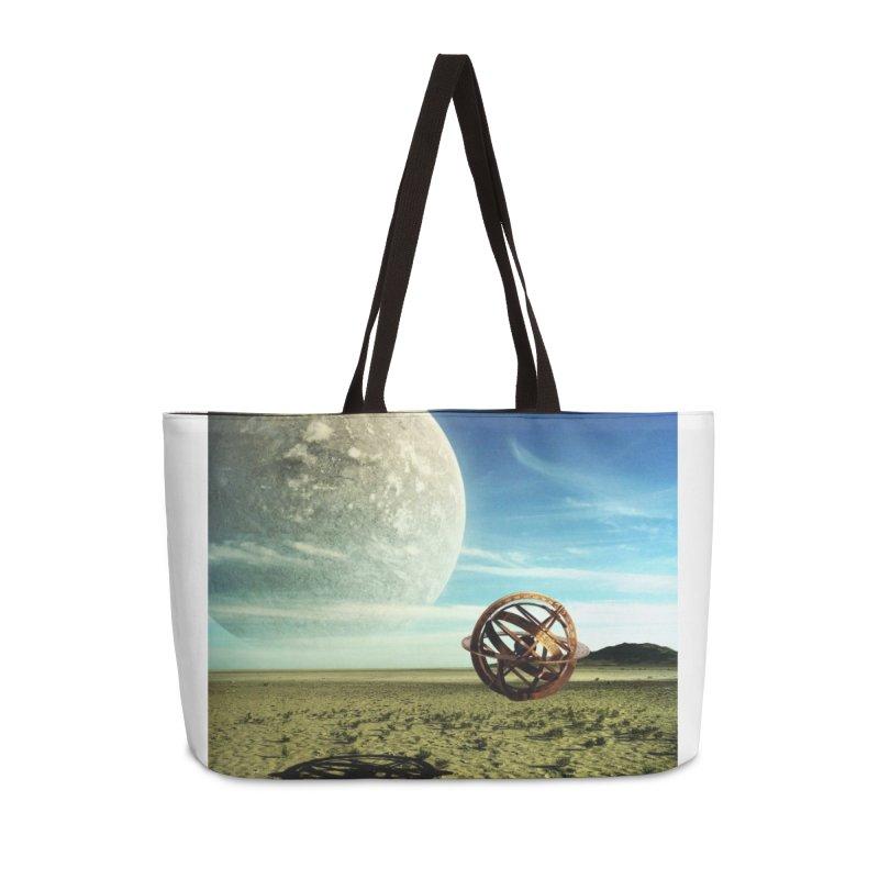 Digital Earth Accessories Bag by mytarotshop's Artist Shop