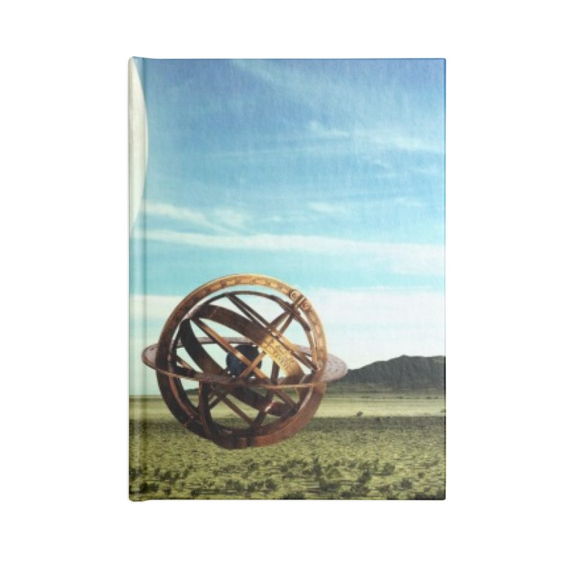 Digital Earth Accessories Notebook by mytarotshop's Artist Shop