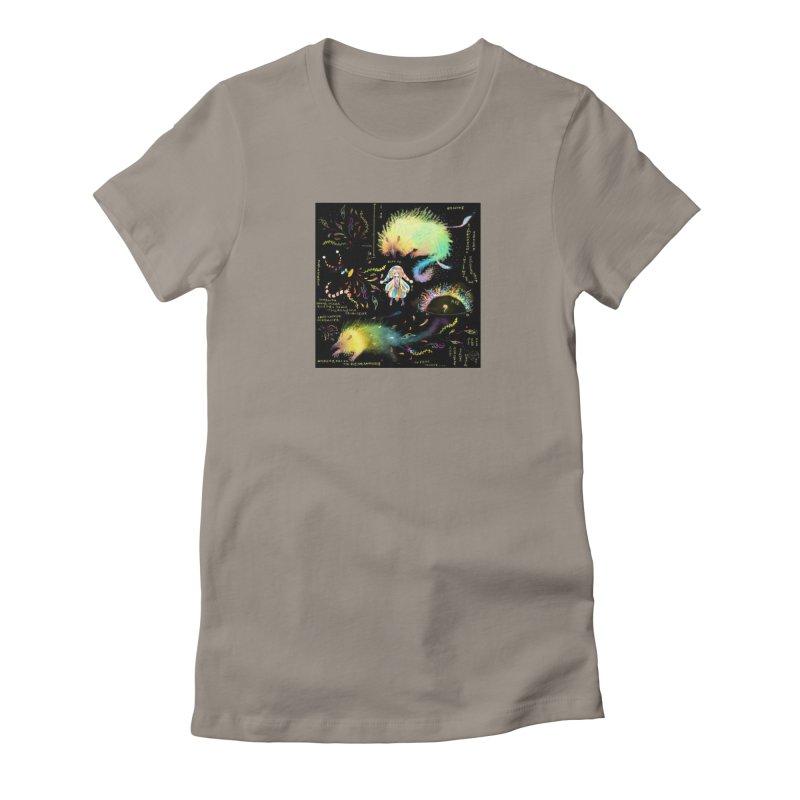 Digital Ocean's Women's T-Shirt by mytarotshop's Artist Shop
