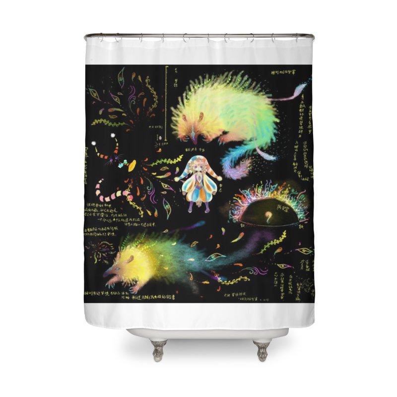Digital Ocean's Home Shower Curtain by mytarotshop's Artist Shop