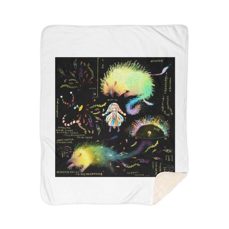 Digital Ocean's Home Blanket by mytarotshop's Artist Shop