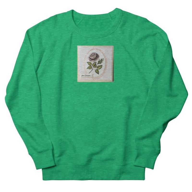 Purple Rose Women's Sweatshirt by mytarotshop's Artist Shop