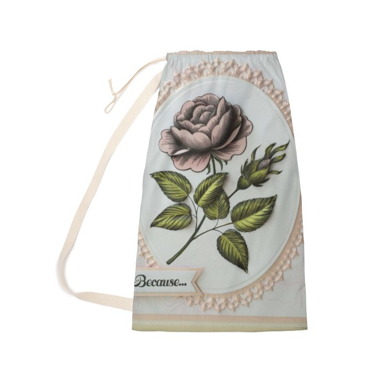 Purple Rose Accessories Bag by mytarotshop's Artist Shop