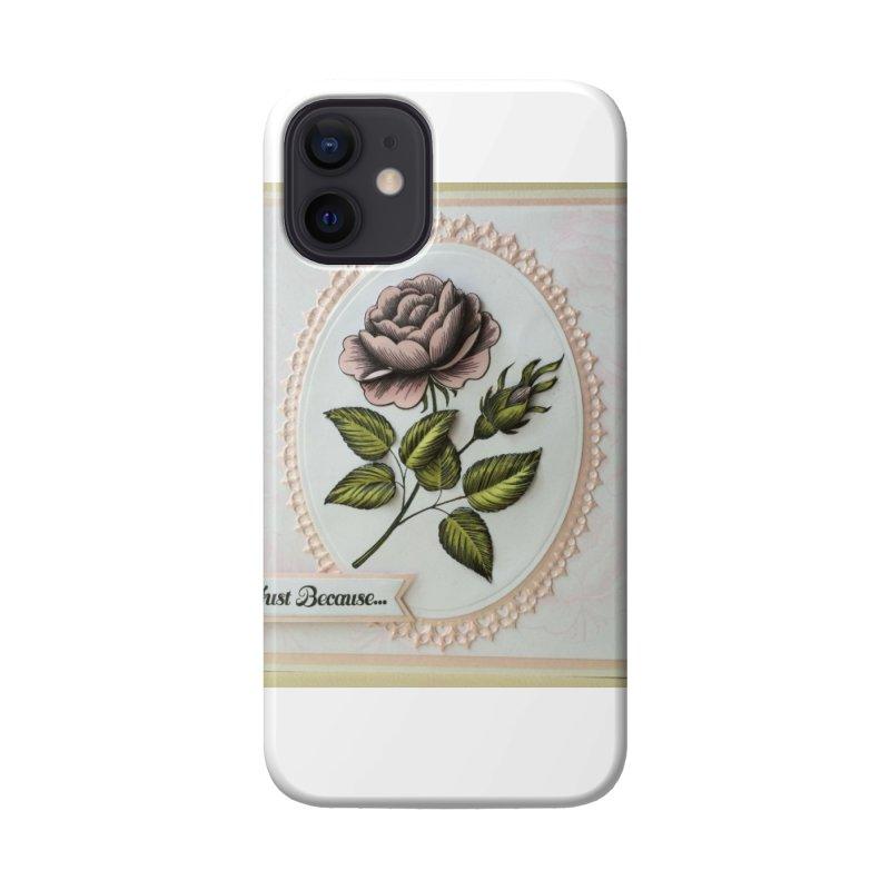 Purple Rose Accessories Phone Case by mytarotshop's Artist Shop