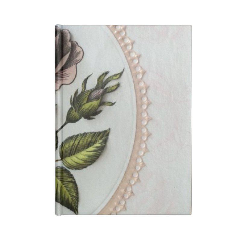 Purple Rose Accessories Notebook by mytarotshop's Artist Shop
