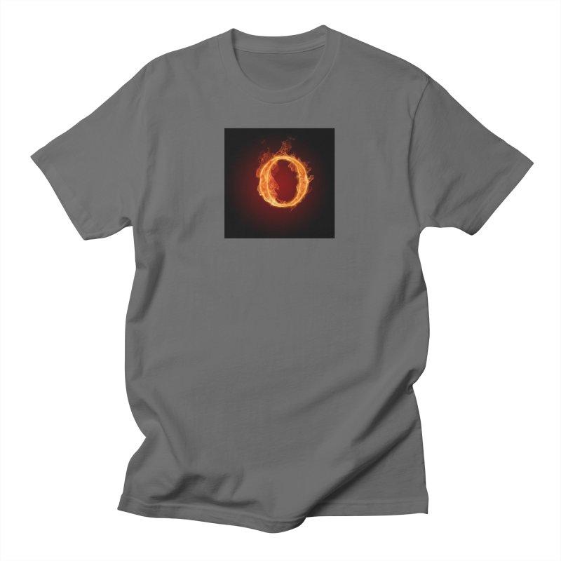 Flaming O Men's T-Shirt by mytarotshop's Artist Shop