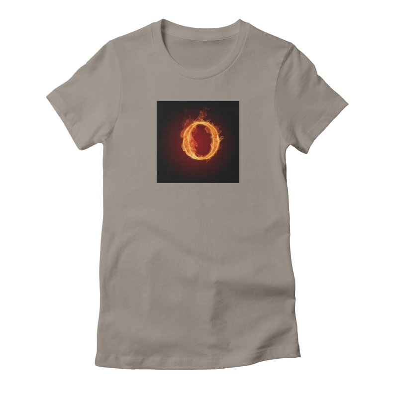 Flaming O Women's T-Shirt by mytarotshop's Artist Shop