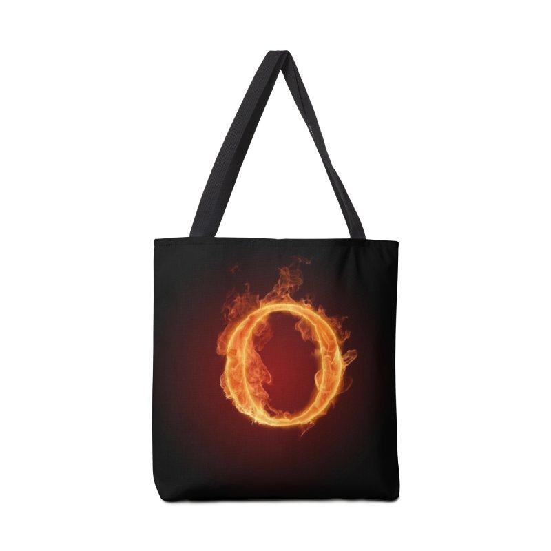 Flaming O Accessories Bag by mytarotshop's Artist Shop