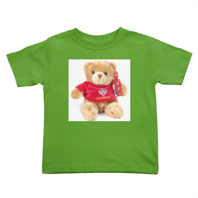 London Teddy Kids Toddler T-Shirt by mytarotshop's Artist Shop
