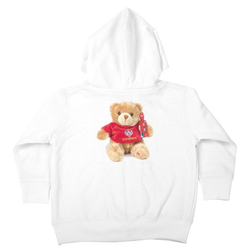 London Teddy Kids Toddler Zip-Up Hoody by mytarotshop's Artist Shop