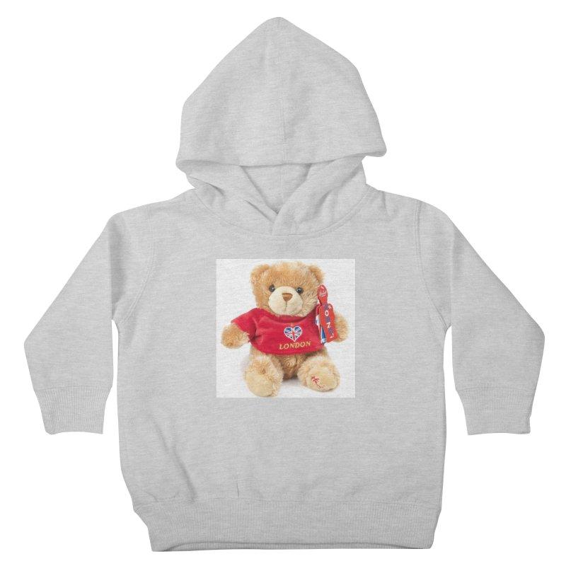 London Teddy Kids Toddler Pullover Hoody by mytarotshop's Artist Shop